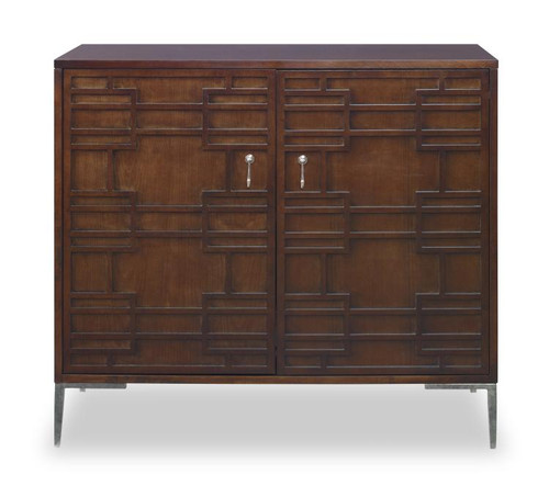 "33"" - 36"" Century Furniture Two Door Low Chest - 1"