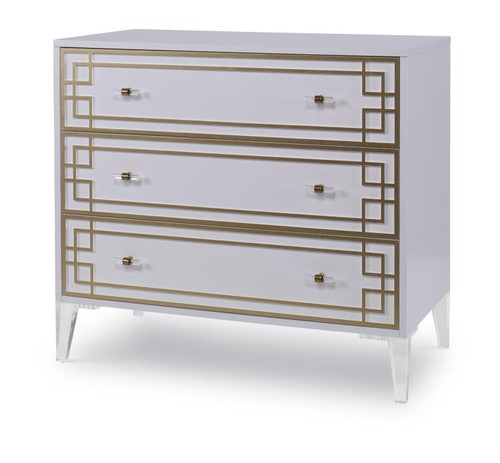 "33"" - 36"" Century Furniture Three Drawer Low Chest - 1"