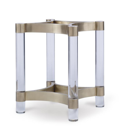 """28"""" Century Furniture Acrylic and Metal Dining Table Base for Glass Top 1 - 1"""