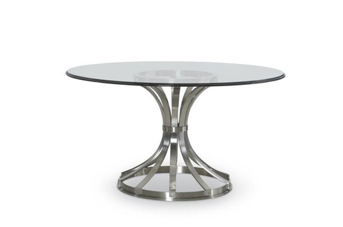 """28"""" Century Furniture Metal Dining Table Base for Glass Top 2 - 1"""