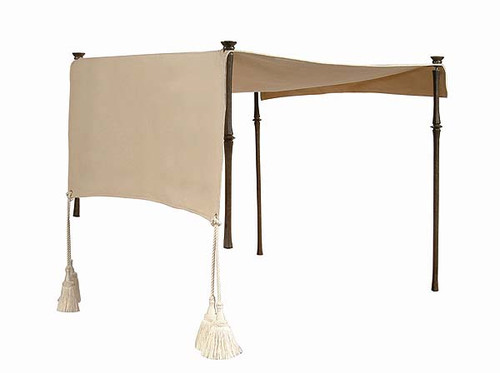 Century Furniture Single Chaise Canopy Bed - 1