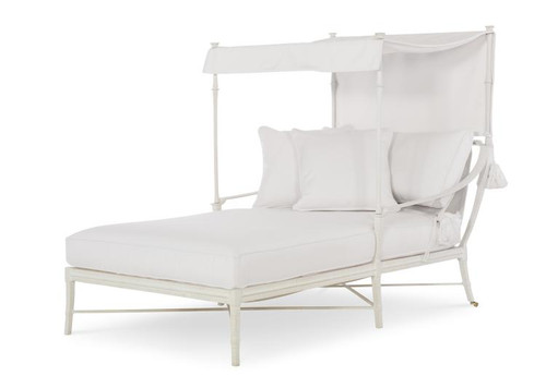 Century Furniture Double Chaise Canopy Bed 1 - 1