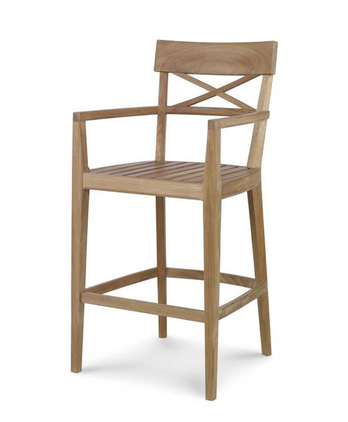 "45"" Century Furniture West Bay Bar Stool - 1"