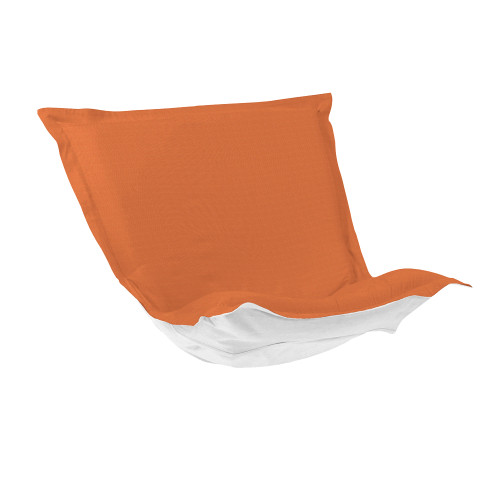 Howard Elliott Puff Chair Cushion Outdoor Sunbrella Seascape Canyon Polyester Cushion and Cover - 1