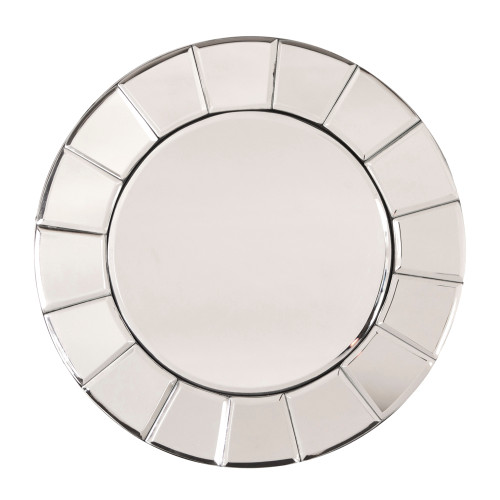 "12"" Howard Elliott Dina Glass Wall Mirror - 1"