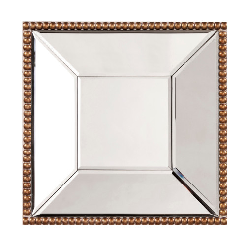 "12"" Howard Elliott Lydia Glass Wall Mirror - 1"