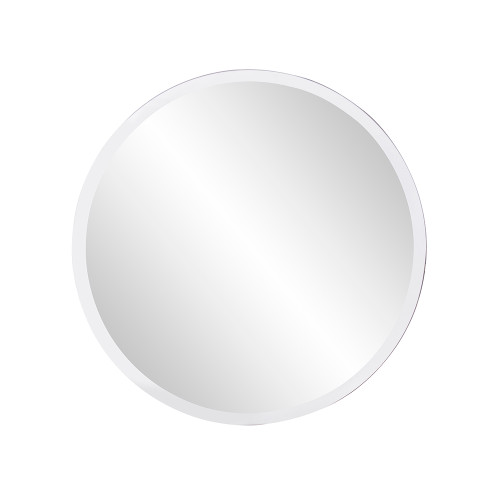 "12"" Howard Elliott Round Glass Wall Mirror - 1"