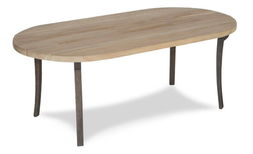"""15"""" Inspired Visions Teak Wood Accent Table - 1"""