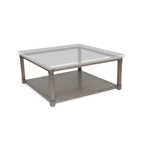 """17"""" Inspired Visions Classic Storage Coffee Table Base 2 - 1"""