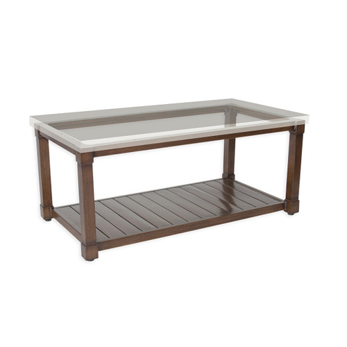 """17"""" Inspired Visions Classic Storage Coffee Table Base 4 - 1"""