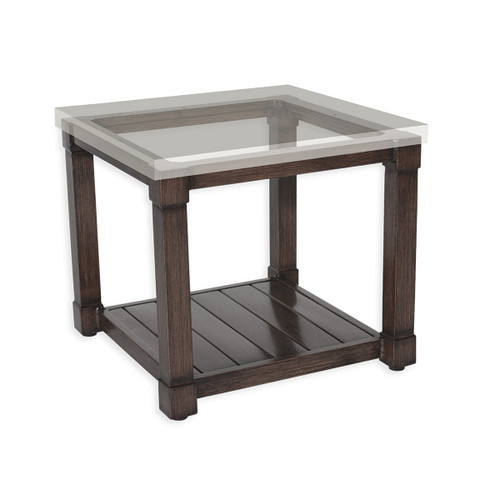 """17"""" Inspired Visions Classic Storage Side Dining Table Base - 1"""