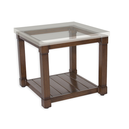 """17"""" Inspired Visions Classic Storage Side Dining Table Base 1 - 1"""