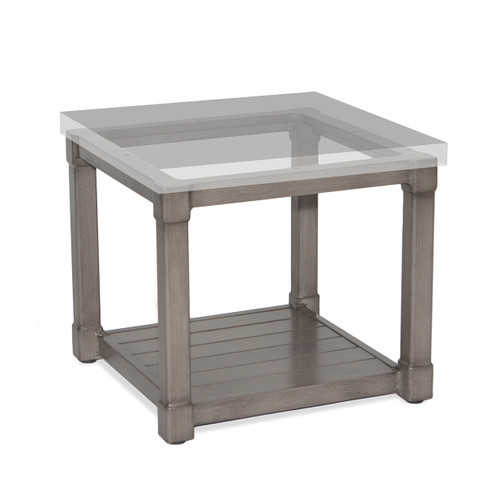 """17"""" Inspired Visions Classic Storage Side Dining Table Base 2 - 1"""
