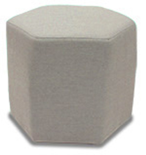 """18"""" Inspired Visions Paxton Upholstered Pouf - 1"""