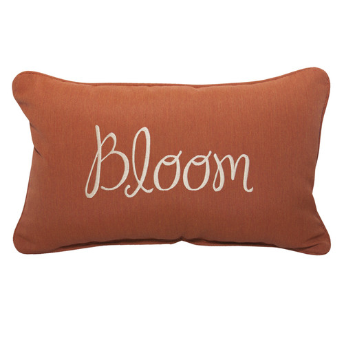 Inspired Visions Bloom Embroidery Pillow - 1