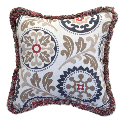 Peak Season Province Fabric Pillow - 1