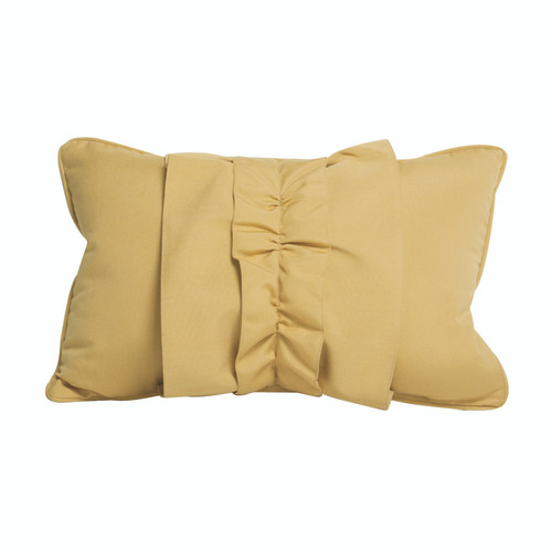 Peak Season Ruffle Wheat Pillow - 1