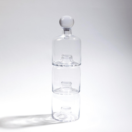 Global Views Triple Stacking Decanter - 1