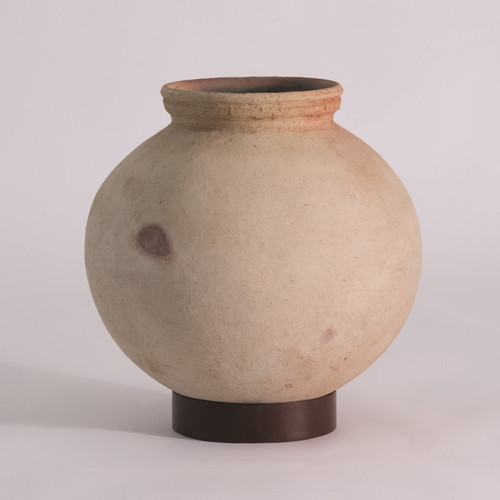 Global Views Desert Water Pot with Iron Base - Small - 1