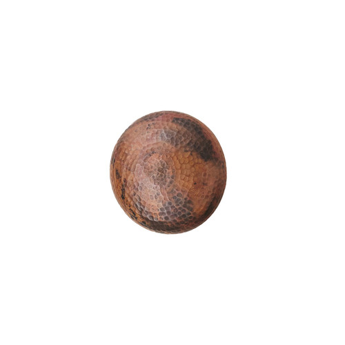 Global Views Burnt Copper Wall Disc Panel - Small - 1