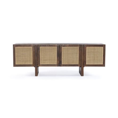 """26"""" Four Hands Goldie Media Console Cabinet - Toasted Acacia - 1"""
