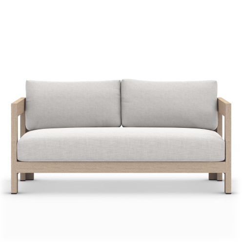Four Hands Caro Outdoor Sofa - Washed Brown - 1