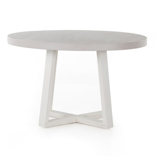 "30"" Four Hands Cyrus Outdoor Round Dining Table 2 - 1"