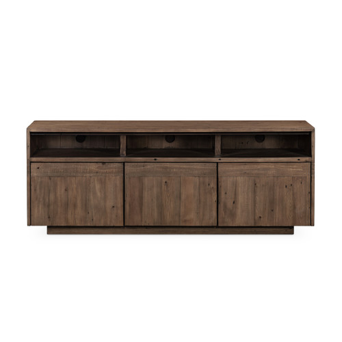 """22"""" Four Hands Latte Media Cabinet - Toasted Mixed Rcl - 1"""