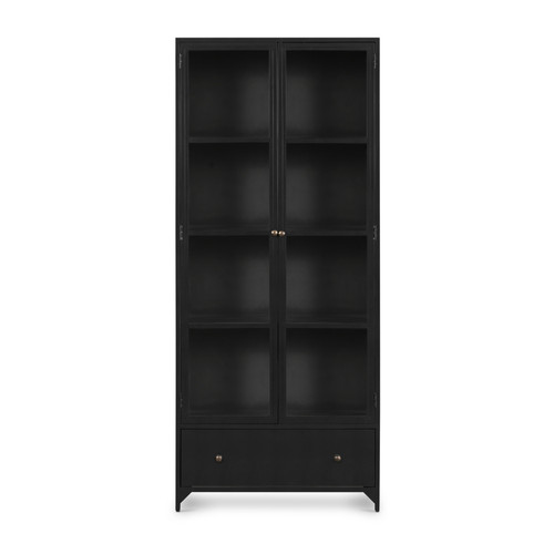 """35"""" Four Hands Shadow Box Display Cabinet 1 - 1"""