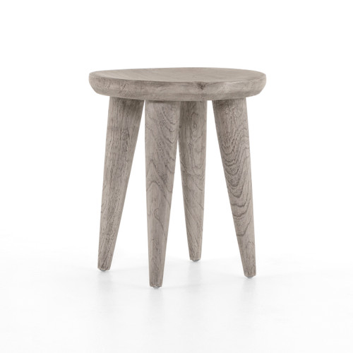 """20"""" Four Hands Zuri Round Outdoor End Table 1 - 1"""