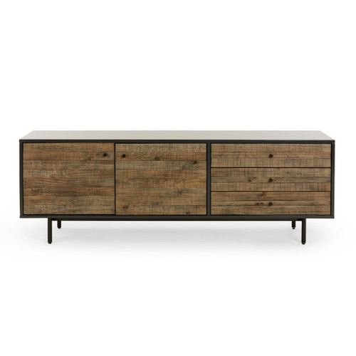"""24"""" Four Hands Tucker Reclaimed Long Media Console Cabinet - 1"""