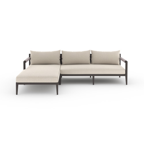 2-Piece Four Hands Sherwood Outdoor Sectional - Bronze 2 - 1