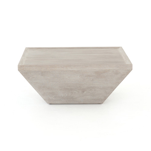 """15"""" Four Hands Delwin Square Outdoor Coffee Table - 1"""