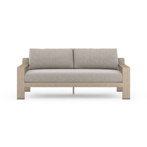 Four Hands Monterey Outdoor Sofa - Washed Brown - 1