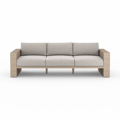 Four Hands Leroy Outdoor Sofa - Washed Brown - 1