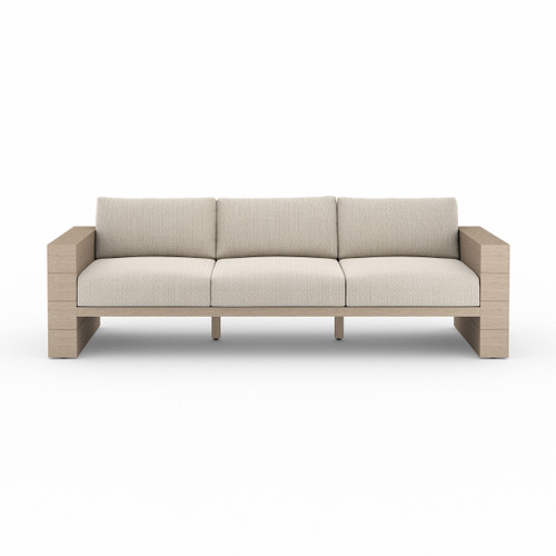 Four Hands Leroy Outdoor Sofa - Washed Brown 1 - 1