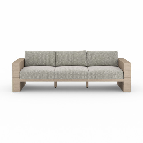 Four Hands Leroy Outdoor Sofa - Washed Brown 2 - 1