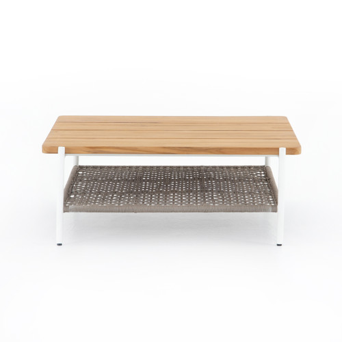 "15"" Four Hands Aroba Outdoor Square Coffee Table - 1"