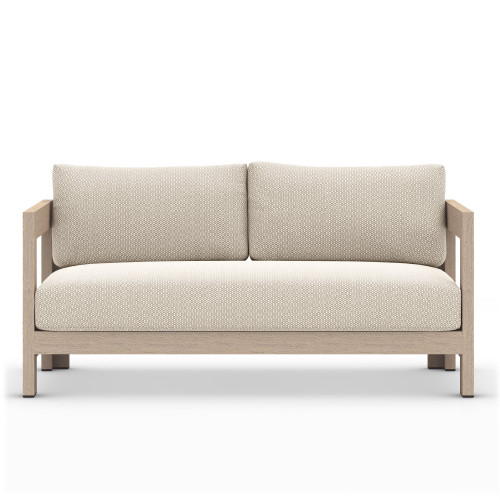 Four Hands Caro Outdoor Sofa - Washed Brown 1 - 1