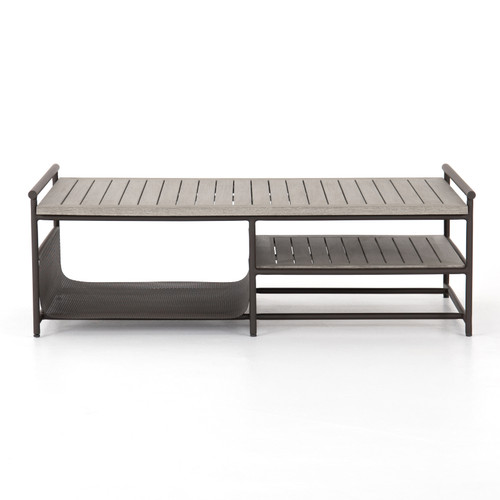 """17"""" Four Hands Ledger Outdoor Coffee Table - 1"""