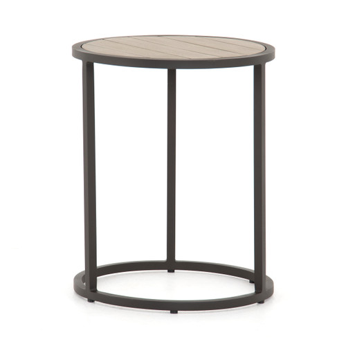 """22"""" Four Hands Alda Outdoor End Table 1 - 1"""