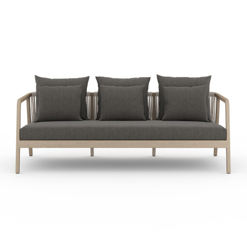Four Hands Numa Outdoor Sofa  -  Washed Brown 1 - 1