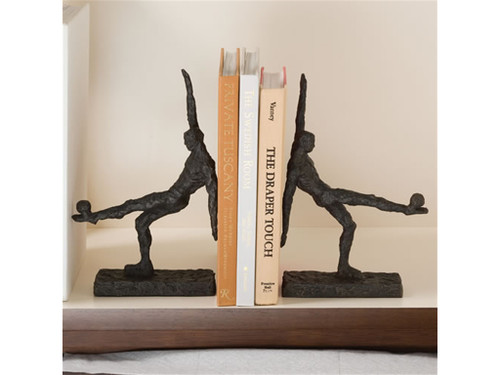 Soccer Kick Bookends - Pair