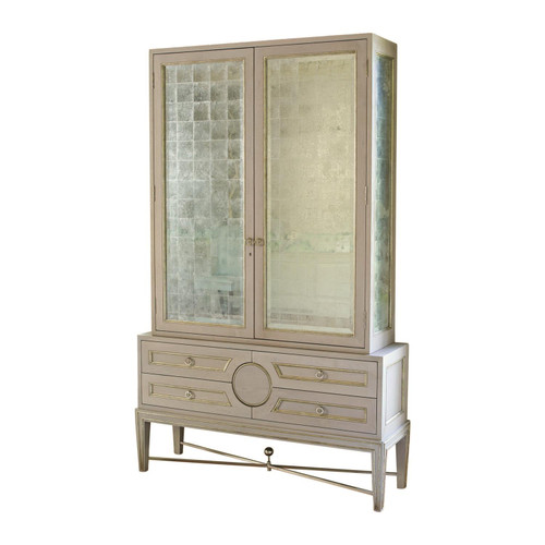 Collector's Cabinet-Grey