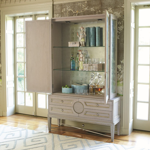 Collector's Cabinet-Grey/Top Only