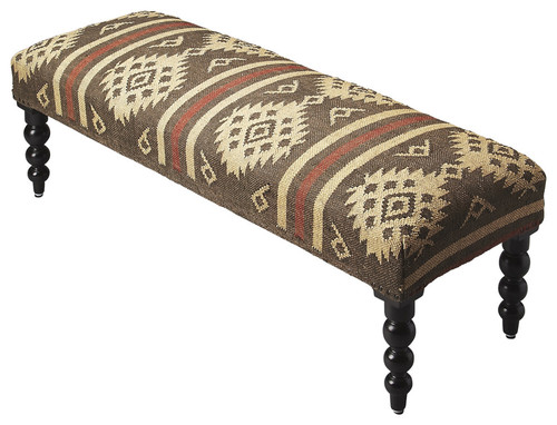 """16"""" Butler Accent Seating Upholstered Accent Bench - 1"""