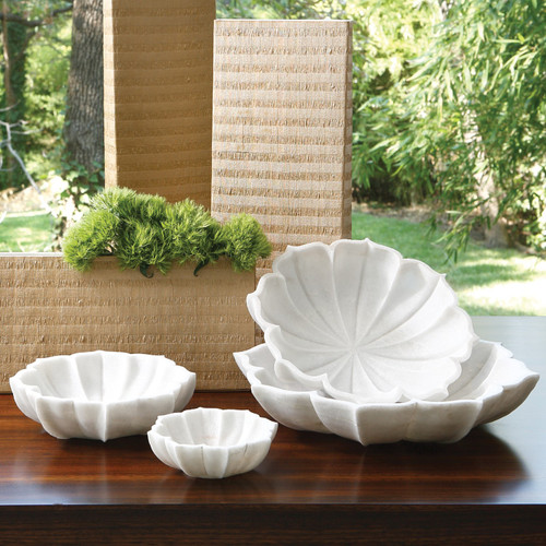 Marble Petal Bowl-Xlg