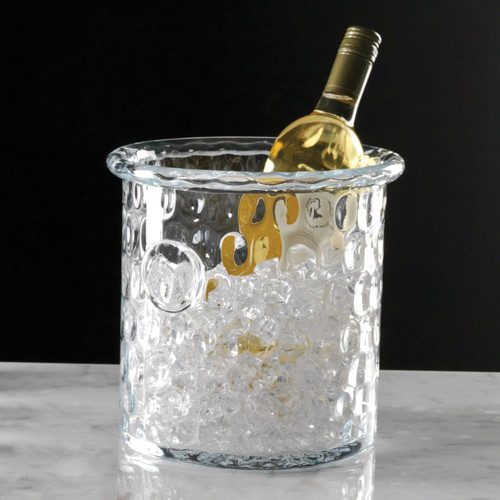 Honeycomb Ice Bucket/Cooler With Rolled Edge