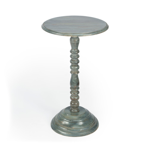 Butler Artifacts Pedestal Accent Table - 1