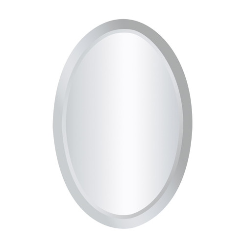 """24"""" ELK Home Chardron Clear Mirror - Oval, Modern / Contemporary - 1"""